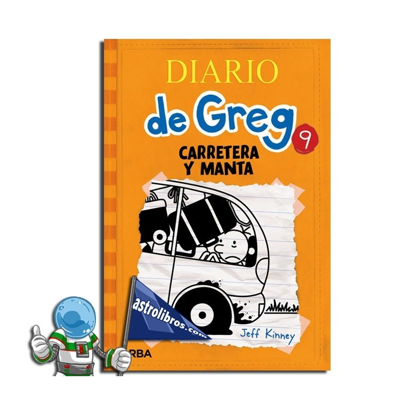Diario de Greg 9. Carretera y manta.