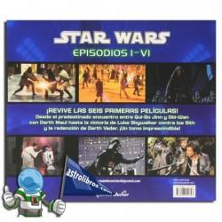 Star Wars Episodios I-VI (Libro)