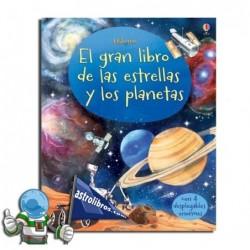 EL GRAN LIBRO DE LAS ESTRELLAS Y LOS PLANETAS , LIBRO DESPLEGABLE