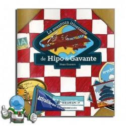 La aventura itinerante de Hipo y Gavante. Libro ilustrado