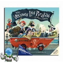Mis vecinos los piratas. Libro ilustrado