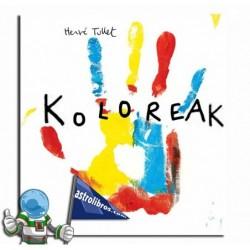 Koloreak. Libro en euskera.