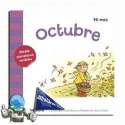 Octubre. Libro colección Mi mes