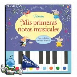 Mis primeras notas musicales. Libro piano.
