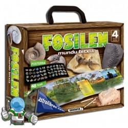 Fosilen mundu bitxia. (Libro en Euskera)