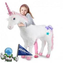 Unicornio de Peluche Gigante