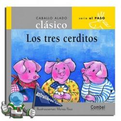 LOS TRES CERDITOS , CABALLO ALADO CLÁSICO , MINÚSCULA