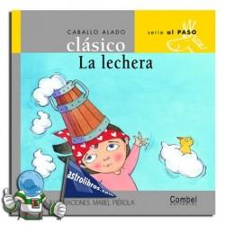 LA LECHERA | CABALLO ALADO CLÁSICO | MAYÚSCULA