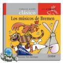 Los músicos de Bremen. Caballo alado clásico.