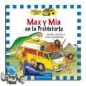 Max y Mía en la Prehistoria. Yellow Van 1