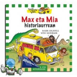 Max y Mía en la Prehistoria. (Euskera)