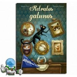 Retratos gatunos. Libro ilustrado