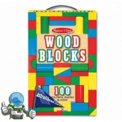 Juego clásico bloques de madera
