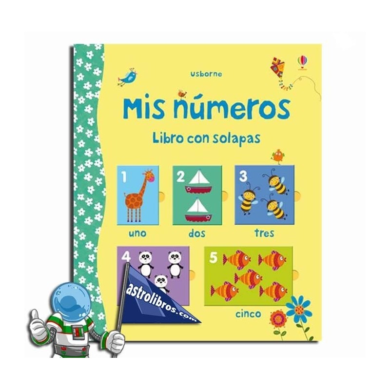 Mis números. Libro de solapas
