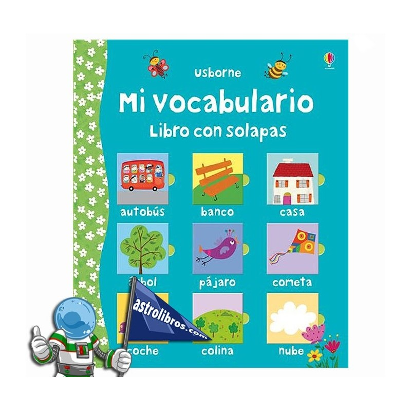 Mi vocabulario. Libro con solapas