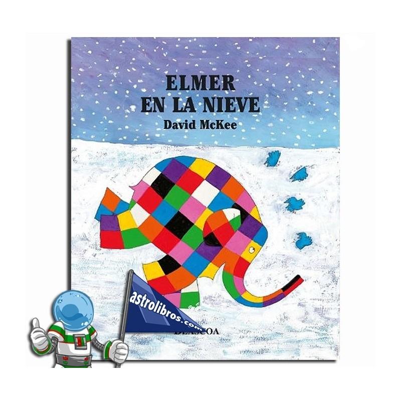 Elmer en la nieve. Erderaz.