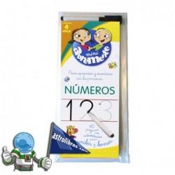 ABREMENTE 4 AÑOS | NÚMEROS | LIBRO PIZARRA