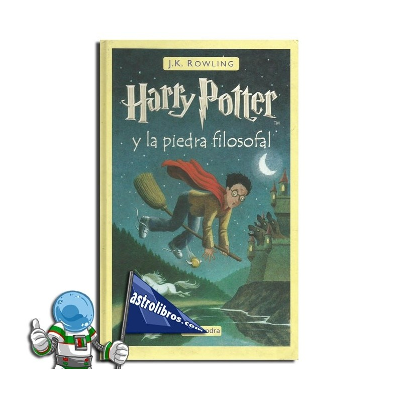 Harry Potter y la piedra filosofal. Harry Potter 1.