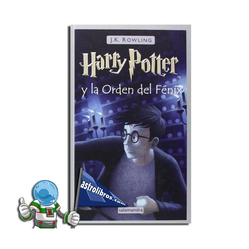 Harry Potter 5. Harry Potter y la Orden del Fénix. Erderaz.