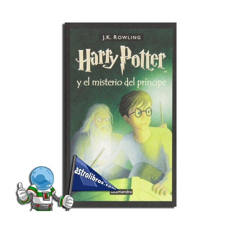 Harry Potter 6. Harry Potter y el misterio del príncipe. Erderaz.