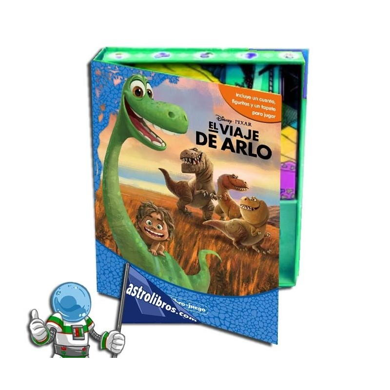 Libro disney El viaje de Arlo. Mi libro-juego.