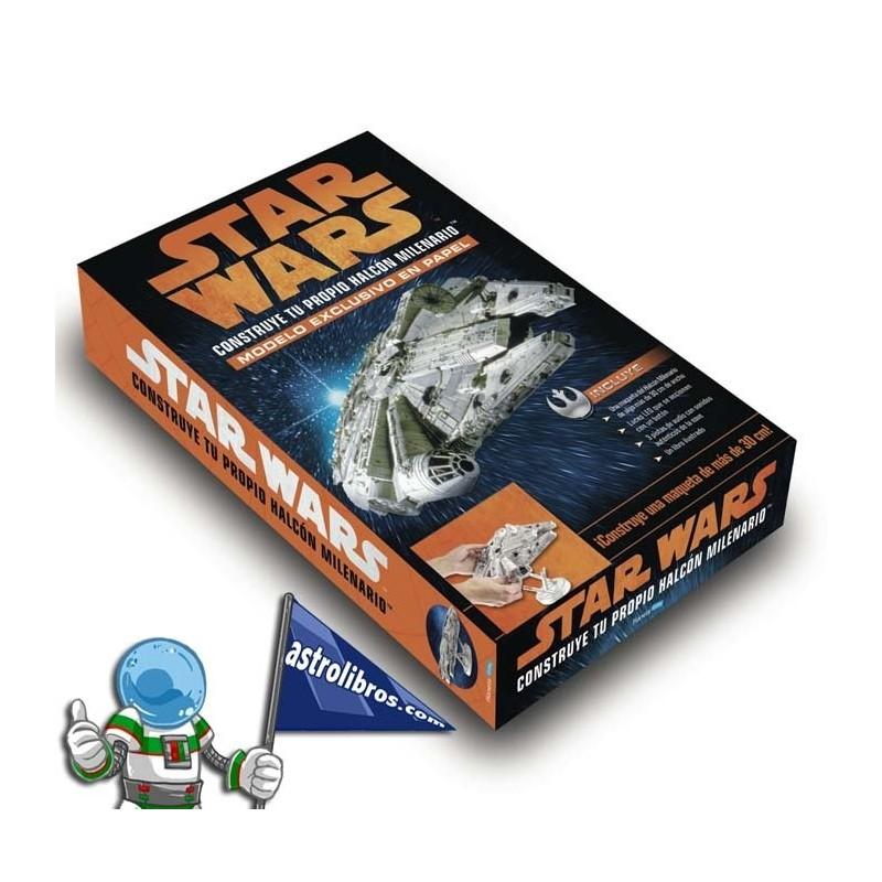 Construye tu propio Halcón Milenario. Star Wars.