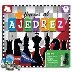 Juega al ajedrez. Libro-tablero.