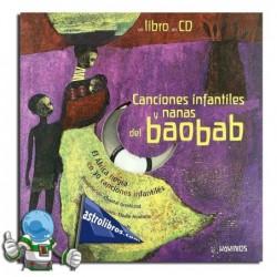 Canciones infantiles y nanas del baobad. Libro con CD.