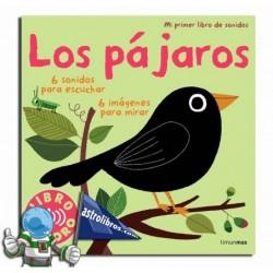 LOS PÁJAROS | MI PRIMER LIBRO DE SONIDOS