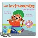 Instrumentos del mundo. Libro con sonidos.