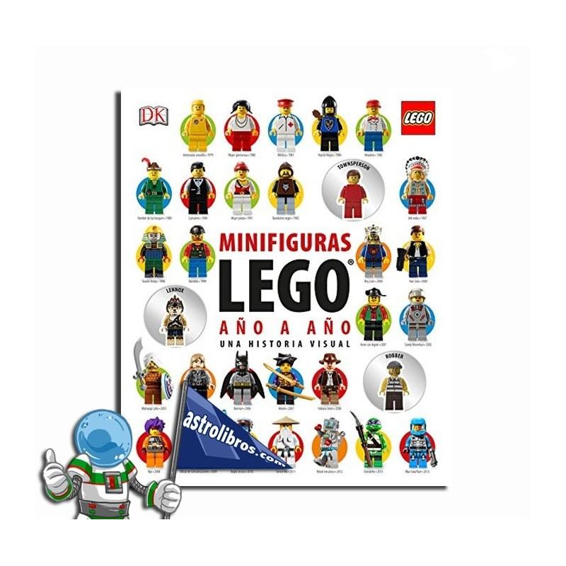 Minifiguras Lego año a año. Una historia visual.