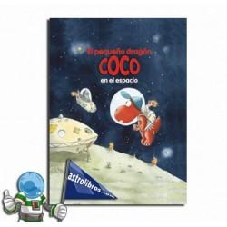 El pequeño dragón Coco en el espacio (papel)