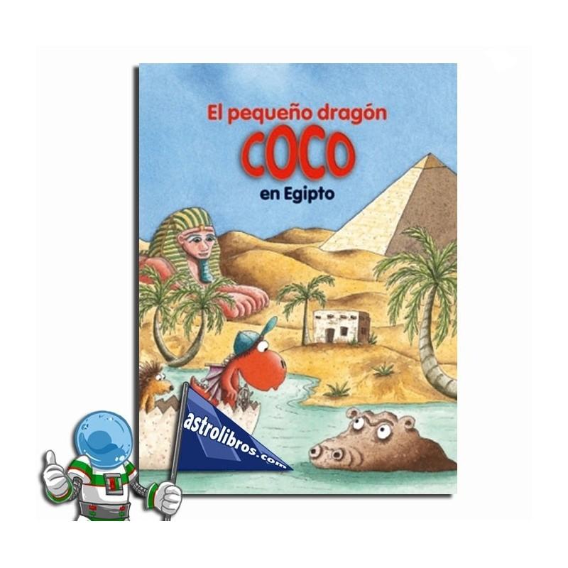 El pequeño dragón Coco en Egipto (papel)