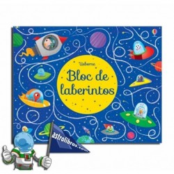 BLOC DE LABERINTOS , PASATIEMPOS INFANTILES