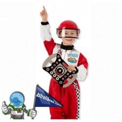 Disfraz de piloto de carreras