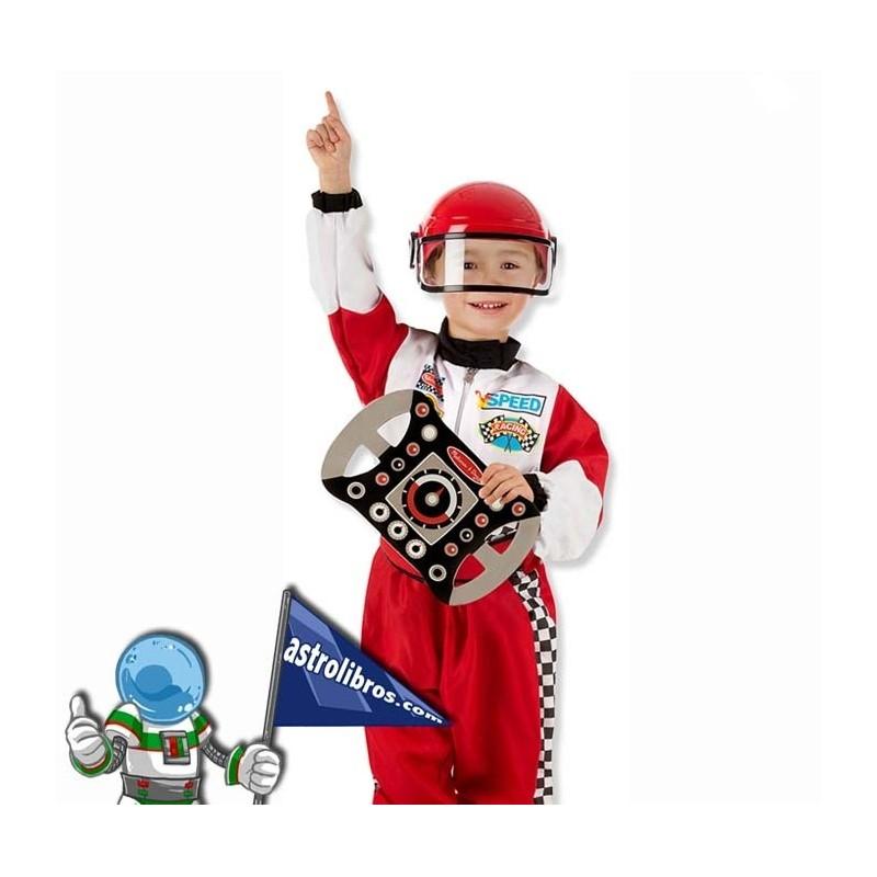Disfraz de piloto de carreras para niños
