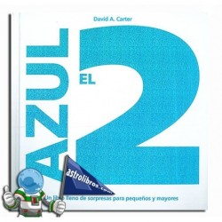 El 2 azul. Libro desplegable