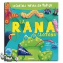 La rana glotona. Libro pop-up.