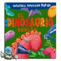 El dinosaurio burlón. Libro pop-up.