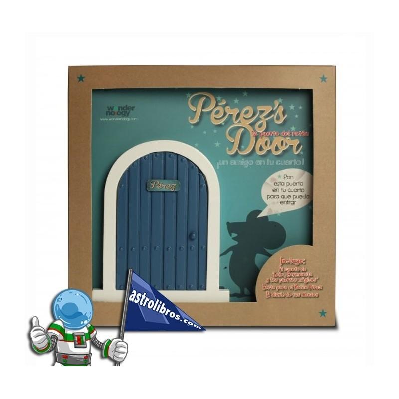 La puerta del ratón Pérez + Cuento. (Azul)