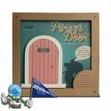 La puerta del ratón Pérez + Cuento. (Rosa)