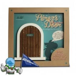 La puerta del ratón Pérez en azul + Cuento.