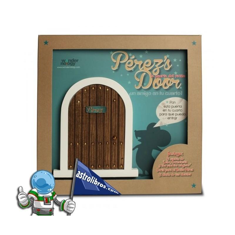 La puerta del ratón Pérez + Cuento. (Marrón)