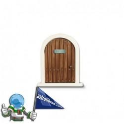 La puerta del ratón Pérez + Cuento | Marrón