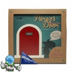 La puerta del ratón Pérez en roja + Cuento.