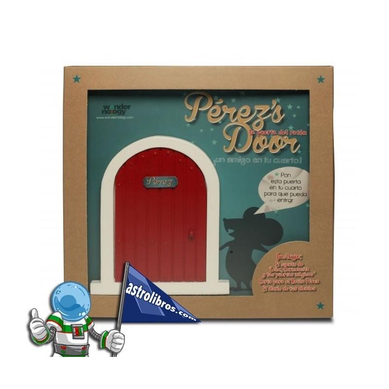 La puerta del ratón Pérez + Cuento. (Roja)