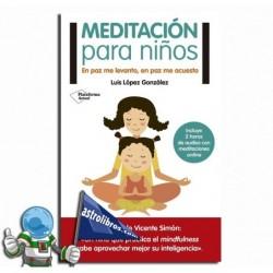 Meditación para niños. Erderaz.