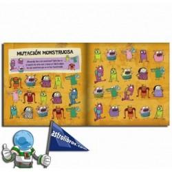 Monstruario | Libro con pasatiempos infantiles