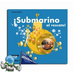 ¡Submarino al rescate! Libro Pop-Up.