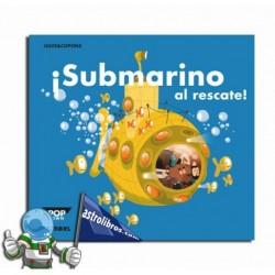 ¡Submarino al rescate! Libro Pop-Up. Erderaz.